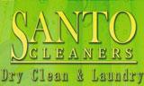 Λογότυπο SANTO CLEANERS - DRY CLEAN & LAUNDRY